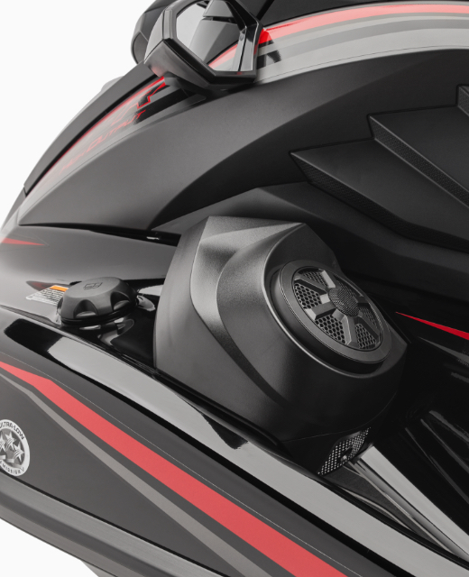 2021 GP1800R HO feature marine speaker