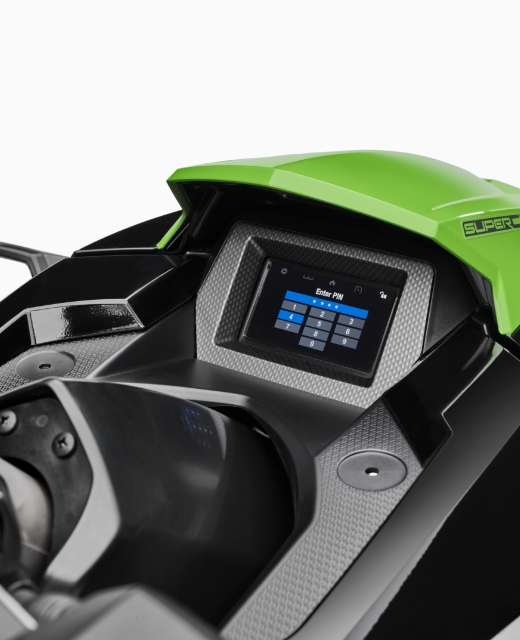 2021 GP1800R SVHO features connext screen 2
