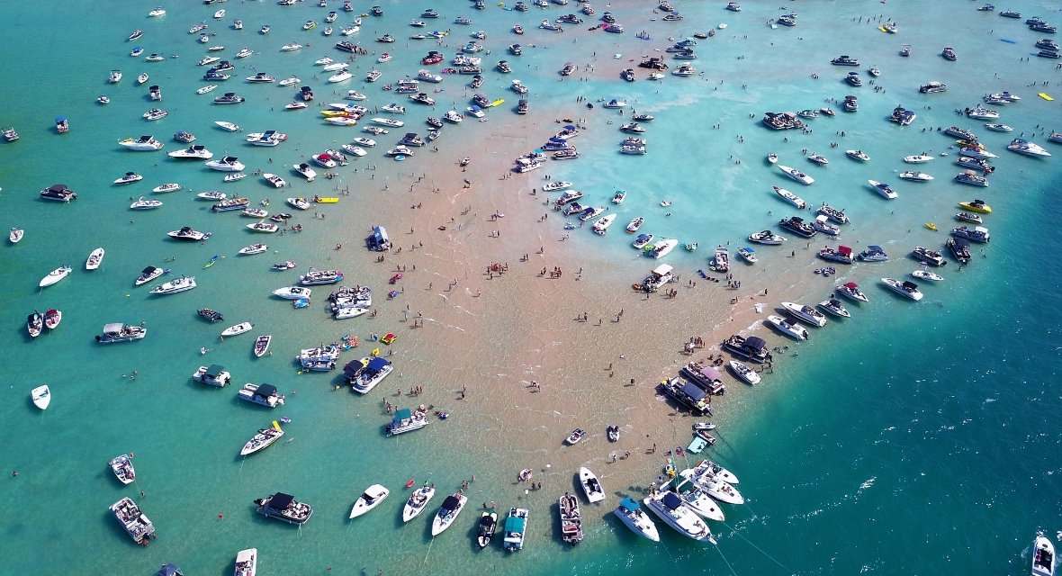 Destinations Torch Lake Michigan